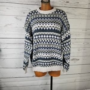 Vintage Grandpa Sweater Oversized Size XL